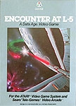 Data Age's Encounter At L5 for Atari 2600 Classic Retro Gaming Video Game Review