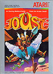 Atari Joust for Atari 2600 Classic Retro Gaming Video Game Review