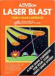 Activision's Laser Blast for Atari 2600 Classic Retro Gaming Video Game Review