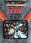 Spectravision's Challenge of Nexar for Atari 2600 Classic Retro Gaming Video Game Review
