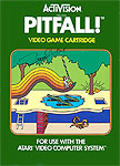Activision Pitfall for Atari 2600 Classic Retro Gaming Video Game Review