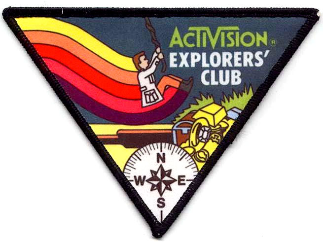 Pitfall - Activision Explorer's Club patch