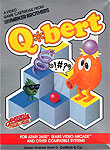 Parker Brothers Q*bert for Atari 2600 Classic Retro Gaming Video Game Review