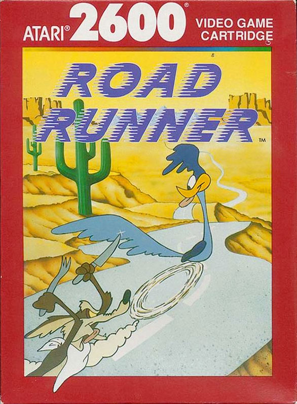 Atari Road Runner for Atari 2600 Classic Retro Gaming Video Game Review