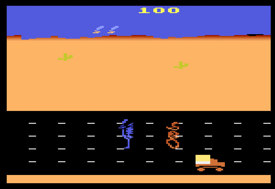 Atari Road Runner for Atari 2600 screenshot Classic Retro Gaming Video Game Review