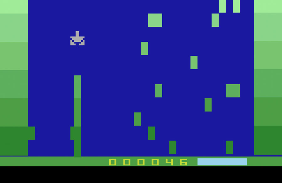 Seaweed Assault for Atari 2600 screenshot Classic Retro Gaming Video Game Review