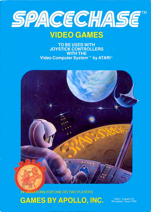 Apollo SpaceChase for Atari 2600 Classic Retro Gaming Video Game Review