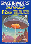 Atari Space Invaders for Atari 2600 Classic Retro Gaming Video Game Review