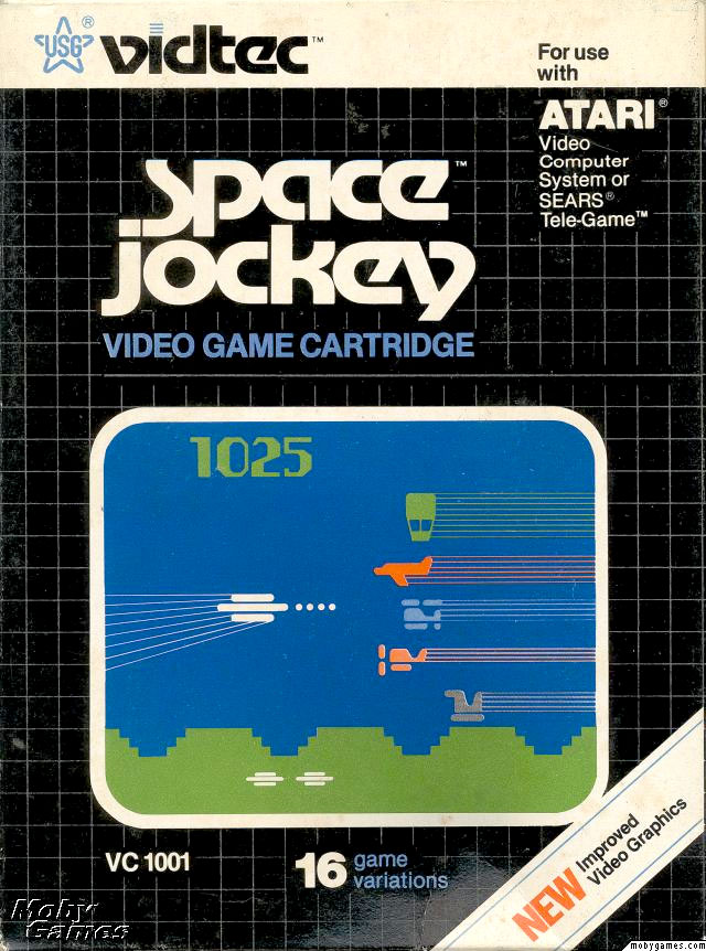 U.S. Games' Space Jockey for Atari 2600 Classic Retro Gaming Video Game Review