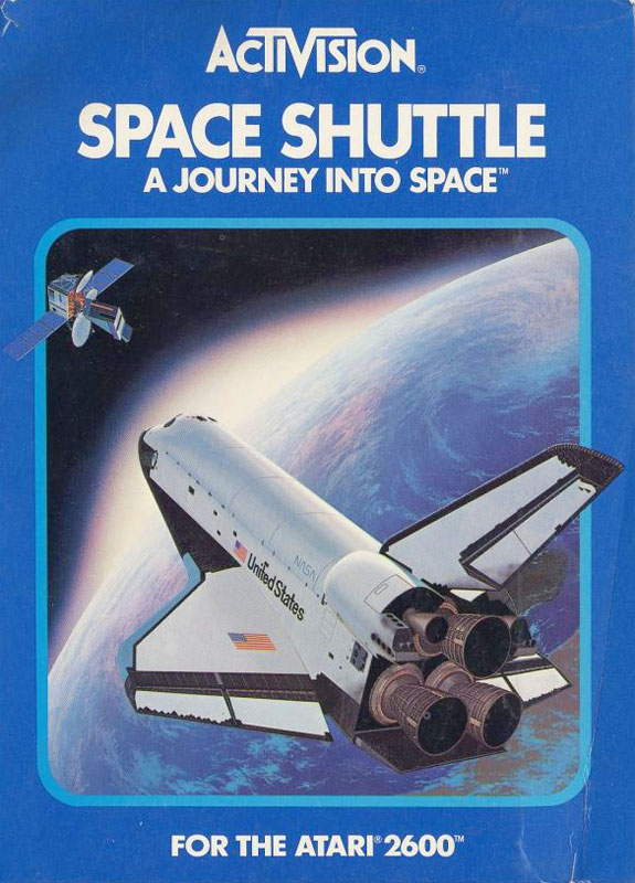 Activision Space Shuttle for Atari 2600