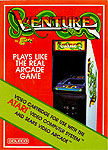 Coleco Venture for Atari 2600 Classic Retro Gaming Video Game Review