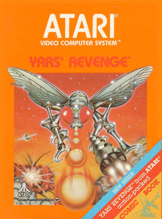 Atari Yar's Revenge for Atari 2600 Classic Retro Gaming Video Game Review
