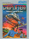 Atari Choplifter! for Atari 5200 Classic Retro Gaming Video Game Review