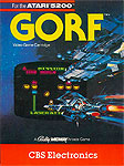 CBS Electronics Gorf for Atari 5200 Classic Retro Gaming Video Game Review
