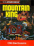 CBS Electronics Mountain King for Atari 5200 Classic Retro Gaming Video Game Review