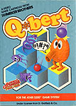 Parker Brothers Q*bert for Atari 5200 Classic Retro Gaming Video Game Review