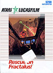 LucasFilm Rescue On Fractalus for Atari 5200 Classic Retro Gaming Video Game Review