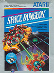 Atari Space Dungeon for Atari 5200 Classic Retro Gaming Video Game Review