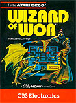 CBS Wizard of Wor for Atari 5200 Classic Retro Gaming Video Game Review