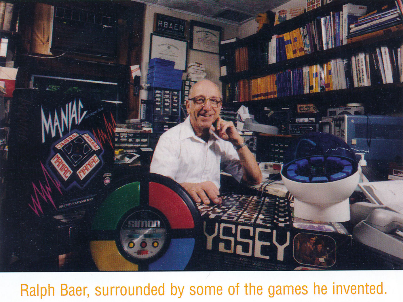 The Guy Who Invented Home Video Games - classic retro video game book review