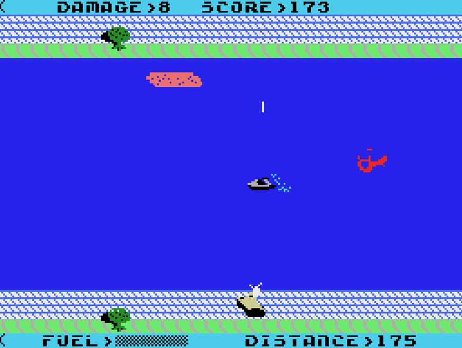 Interphase's Aquattack for Colecovision screenshot Classic Retro Gaming Video Game Review