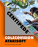 Atarisoft Centipede for Colecovision Classic Retro Gaming Video Game Review