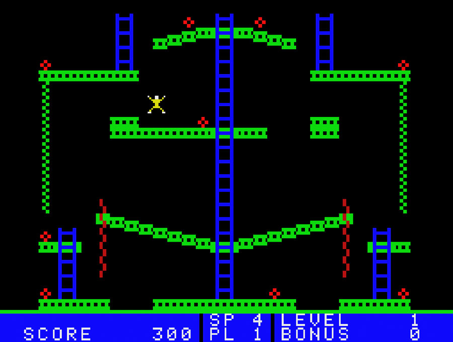 Jumpman Junior for the Colecovision
