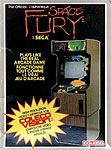Sega's Space Fury for Colecovision Classic Retro Gaming Video Game Review