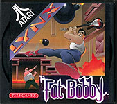 Telegames' Fat Bobby for Atari Lynx Classic Retro Gaming Video Game Review