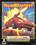 Atari's RoadBlasters for Atari Lynx Classic Retro Gaming Video Game Review