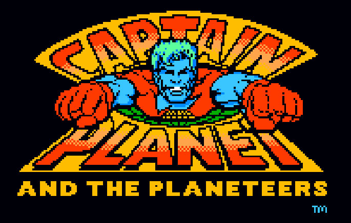 Mindscape's Captain Planet and the Planeteers logo