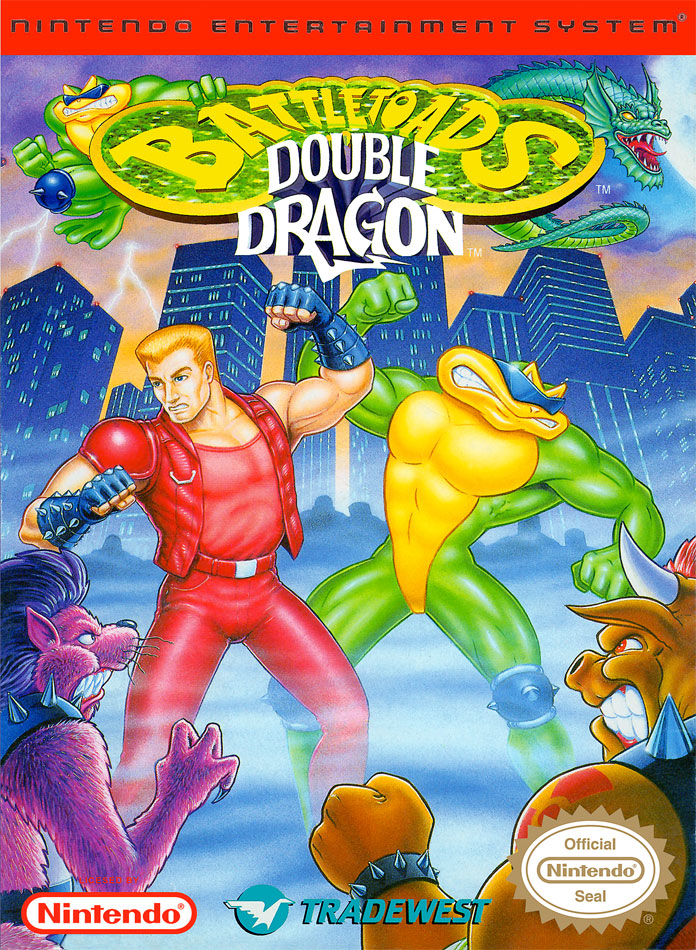 Battletoads Double Dragon for NES