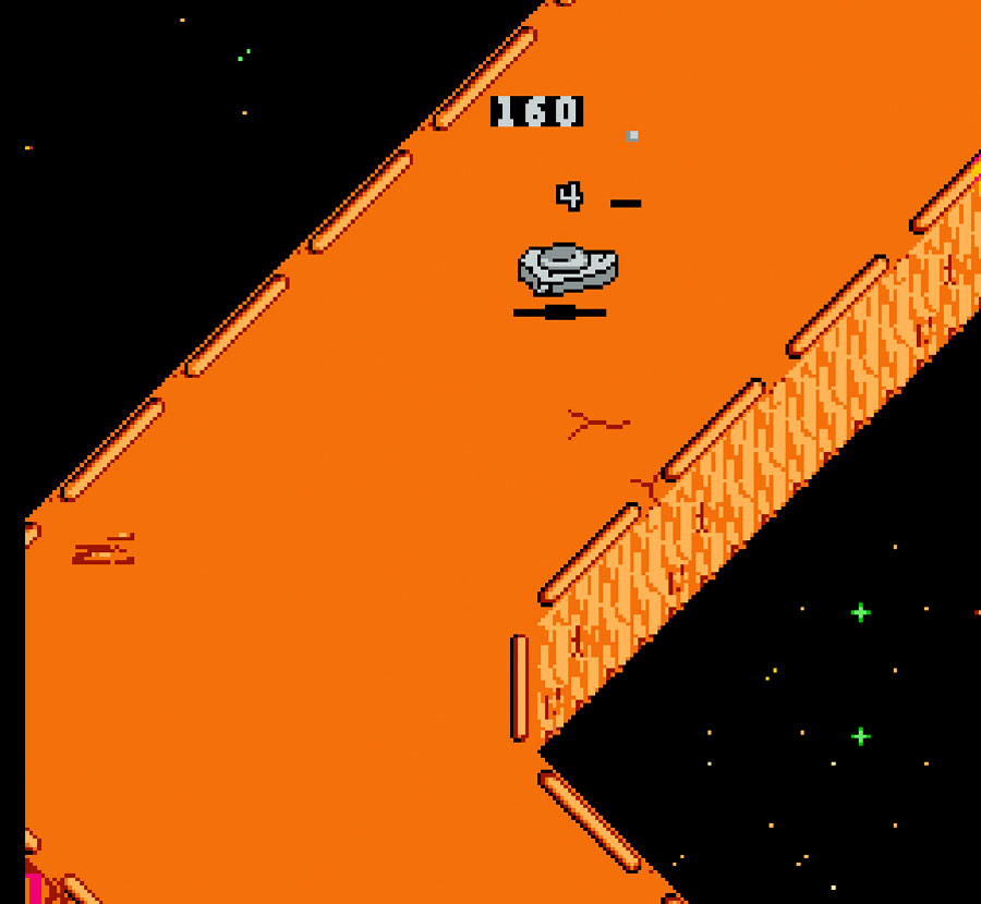 Activision's Galaxy 5000: Racing in the 51st Century for Nintendo NES screenshot Classic Retro Gaming Video Game Review
