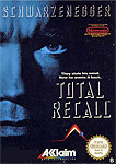 Total Recall start up screen on the NES