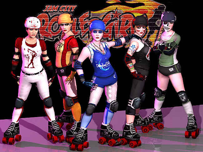 Frozen Codebase Jam City Rollergirls teams for WiiWare Classic Video Game Review