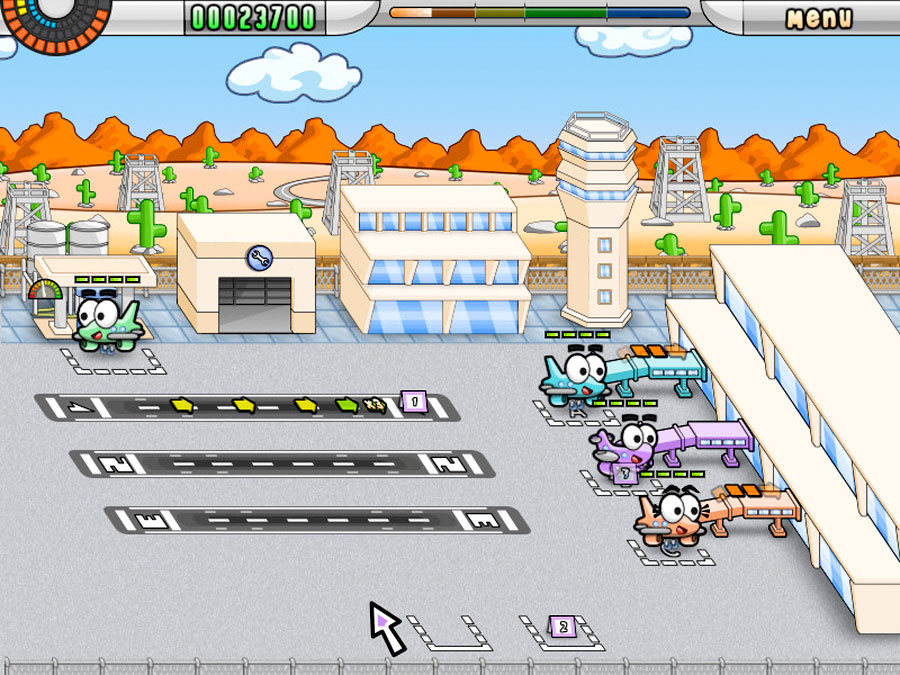 Reflexive Entertainment Airport Mania: First Flight for WiiWare screenshot Classic Retro Gaming Video Game Review