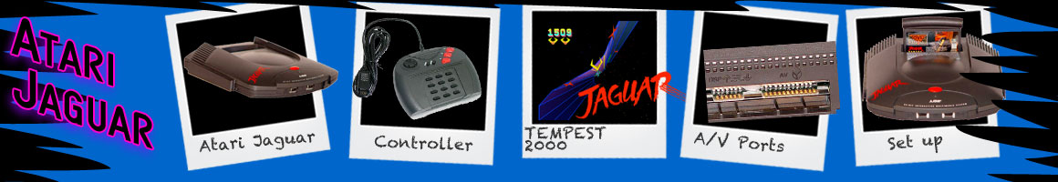 Retro Classic Video Games Atari Jaguar Promotional Items