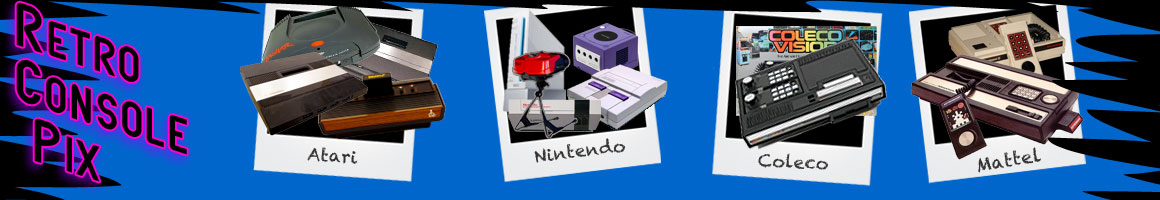 Classic Video Game Consoles