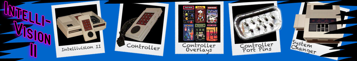 Classic Video Games Intellivision II