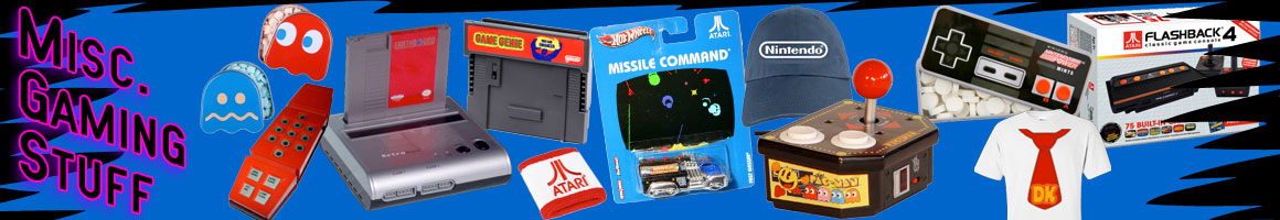 Retro Classic Video Games Miscellaneous Items