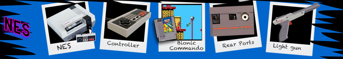 Classic Video Games Nintendo NES