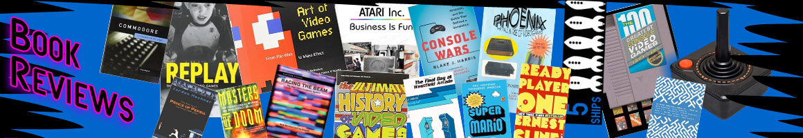 Classic Retro video game book reviews