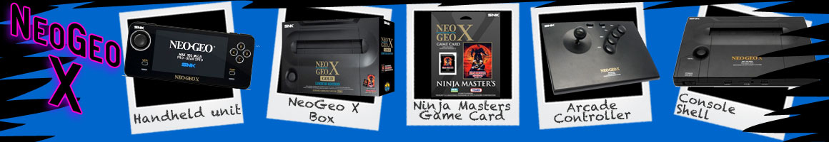 Classic Video Games SNK Playmore NeoGeo X