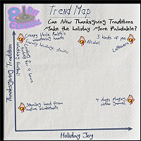 Trend Map: Can New Thanksgiving Traditions Make the holiday More Palatable?