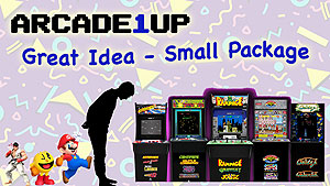AArcade1Up: 3/4 scale arcade games with classic retro games and authentic controls