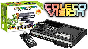 A look at the Colecovision Flashback video game console from Toys R Us