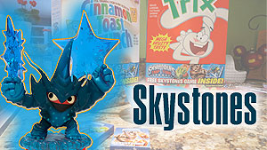 The Skystones game in General Mills cereal is surprisingly well made