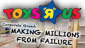 Corporate greed and bad timing ruined Toys R Us, but was management seeking salvation or golden parachutes?